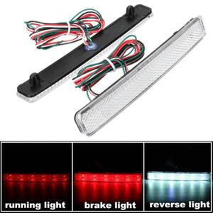 2x para VW Transporter T5 24 LED Reflectores traseros automáticos Bumper Tail Lámpara antiniebla Parada de freno Luces de marcha nocturna Conducción Luz de marcha atrás