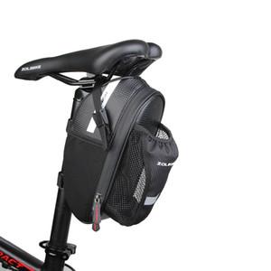 Sac à vélo selle avec de l'eau Bole poche étanche VTT Vélo Sacs à vélo arrière arrière Siège arrière Sacoche Accessoires