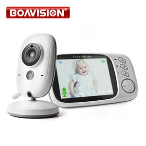 VB603 Video Baby Monitor 2.4G Wireless mit 3,2 Zoll LCD 2-Wege-Audiogespräch Nachtsichtüberwachung Überwachungskamera Babysitter