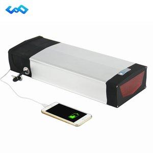 UE US AU Aucune taxe longue capacité vélo électrique 48V 20Ah Batterie au lithium 48V arrière rack batterie USB + chargeur 54.6V 2A