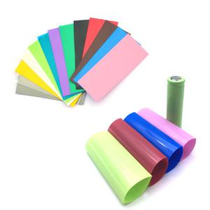 18650 \ 20700 Bateria Shrink Wrap Tubing PVC isolamento térmico filme Re-wrapp para Sony vtc4 vtc5 samsung LG he4 e ultrafire