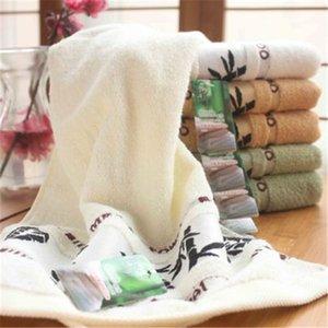 Adeeing Towels Bamboo Fiber 14x30 Absorbente Suave Suave Toalla de Mano de Algodón Gimnasio Toalla de Baño Paños de Lavado Paños Blancos
