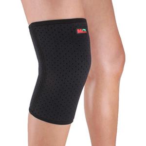 75% caucho sintético, 25% nylon Mumian B03 respirable Sport Knee Guard Protector - negro respirable y Wear cómodo