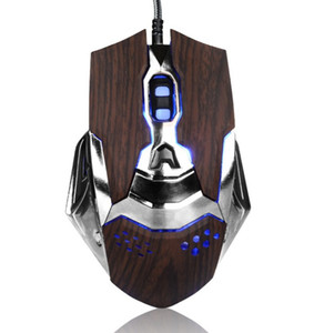 6 버튼 2000DPI 게임용 마우스 USB 유선 광학 마우스 마우스 게이머 마우스 LLFA