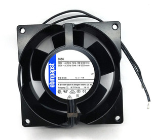 New Original German ebmpapst 3656 92*38MM AC220V 12 11W high temperature axial radiator fan