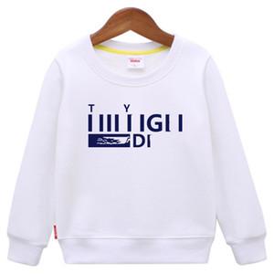 2018 Sonbahar Erkek T-shirt Çocuk Tees Bebek Çocuk Erkek Kız Karikatür Kostümleri Giysi T Shirt çocuk Tişörtü Erkek Çocuklar Için Tops
