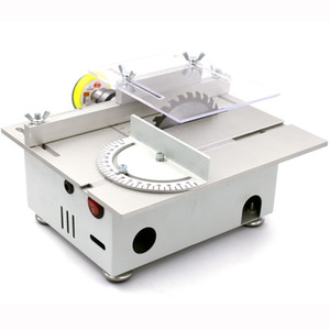 Mini Table Saw Cutter Handmade Woodworking Rettifica Levigatrice Bench Saw Modello di taglio Saw Machinery Tool Telaio in metallo
