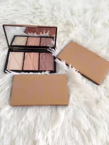1PCS 브랜드 메이크업 블러쉬 팔레트는 3 개 가지 색상 패틀 높은 품질 무료 배송 패션 Comestics을 4mixed