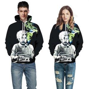 Muscleguys Hoodies Art und Weise Männer / Frauen 3d Sweatshirts mit Hut Digital-Hoody Tops Drucken Raucher