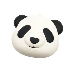 10pcs Kawaii Squishy Jumbo 10cm Panda Pain Cake Squeeze Buns Squishy Slow Rising Soulagement du Jouet Bracelet Téléphone Kid Juguetes
