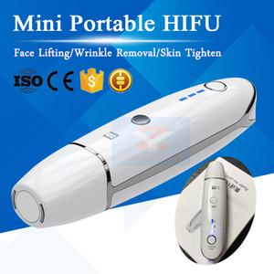 Mais novo Mini Portátil V Max HIFU Terapia HIFU Terapia 3.0mm 4.5mm Face Lift Remoção de Rugas HIFU Tratamento Equipamentos de Salão de Beleza