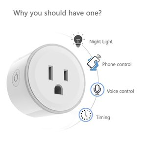 Convenient WIFI Smart Plug US Plug Smart Timing Socket Wireless Outlet control function plug for Smart Home Automation