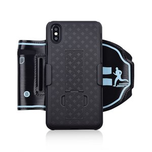 Arm Arm Arm Case for iPhone X XS MAX for iPhone XR Back Cover Running رياضة Wristband Wristband Phone Holder