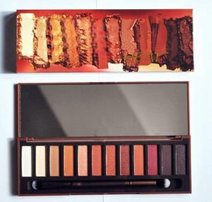 EN STOCK !! Nueva paleta de maquillaje !! Marca 12colors sombra de ojos Matte NUDE palette heat palette Alta calidad por ePacket
