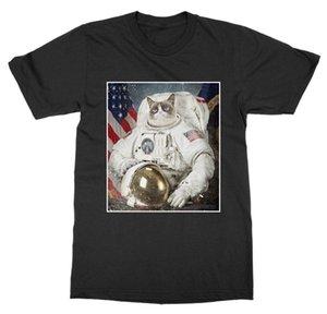 Cat Space Explorer Maglietta Astronaut Shuttle Rocket Kitty Kitten Animale da compagnia Zoo