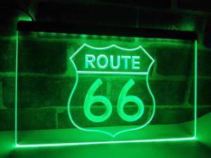 LB371-Rota Histórica 66 Estrada Mãe LEVOU Luz Neon Sign NR home decor artesanato