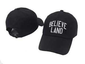 BELIEVE LAND Baseball Cap US Fashion 2018 Snapback Hip hop Cap Men HEYBIG Curve visor 6 panel dad Hat casquette de marque