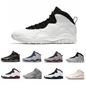 Top Fashion Westbrook 10 10s Mens scarpe da basket Cement Sono tornato 10s Mens Sneakers sportive chicago bobcats Taglia S 41-47 Trasporto di goccia