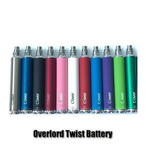 Clover overlord twist Batteria da 3.2v a 3.8v a batteria a tensione variabile 2600mAh E per atomizzatori da 510 thread