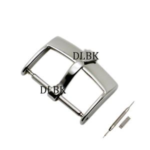 Uhr Zubehör 16mm 18mm 20mm Mann Frauen Marke Bestnote Edelstahl Polieren Uhrenarmband Strap Silber Dornschließe für Rolex Band