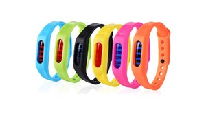 New Anti Mosquito Pest Insect Bugs Repellent Repeller Wrist Band Bracelet Wristband Protection mosquito Deet-free non-toxic Safe Bracelet