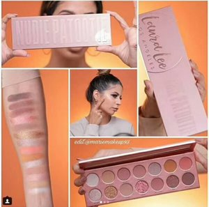 Eyeshadow Palette Laura 14 colora il nuovo Lee Los Angeles nudie Patootie naturale a lunga durata trucco DHL Freeshipping
