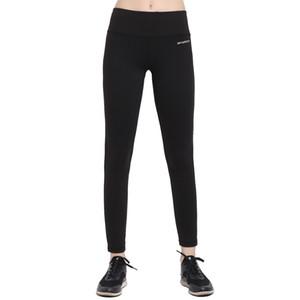 Kadınlar Baz Katman Siyah Renk Yoga Pantolon Spandex Gergin Koşu Tayt Kadın Gym Fitness Spor Tayt Yoga Bayanlar Için Giymek