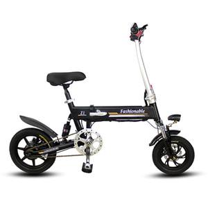 14inch Portable faltendes elektrisches Fahrrad mini Erwachsener e Fahrradlithiumbatterie angetriebene Motorräder Zweischeibenbremsen elektrisches Fahrrad