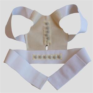 Women Men Back Posture Corrector Back Support Free Upper Shoulder Posture Correction Shipping Magnetic Massager Therapy Belt