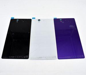 De haute qualité Nouveau remplacement Retour verre boîtier de la batterie Couverture porte capot arrière pour Sony Xperia Z L36H L36 C6603 C6602