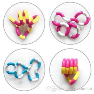 Fidget Fiddle Adulto Anti Estresse Mão Toy Descompressão Sensorial EDC for Kids autismo Dedo Formação novidade torcida do anel