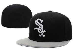 2018 neue Ankunft Knochen White Sox Baseball Caps Sommer Stil Männer Frauen Hip Hop Papa ausgestattet Hüte
