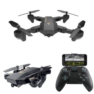 XS809W Quadcopter Aircraft Wifi 4-Achsen-Altitude Hold Funktion RC Drone mit HD 2MP Kamera-Drohne RC Spielzeug faltbare Drone C3846