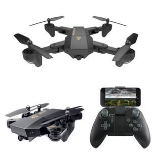 XS809W Quadrotor Aircraft Wifi 4 Axis Altitude Hold RC Drone com HD de 2MP Camera Drone RC Toy dobrável Drone C3846