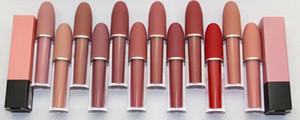 Fabrika Doğrudan Ücretsiz Kargo Yeni Marka Makyaj 4.5G Cilası Lipgloss / Rouge Liwed Ruj / M6873 Lipgloss12Colors