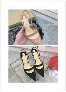 Femmes Stiletto Heel sandales célèbre marque rouge fond haut talon retour à la maison robe chaussures nouvelle arrivée pompes dame mode unique chaussures