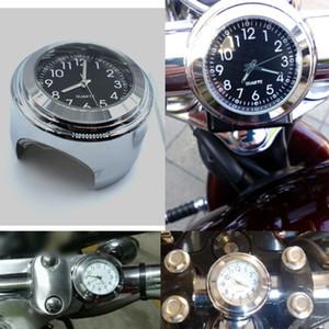 """Für 7/8 """"-1,0"""" / 22-25mm Aluminum Motorrad Lenker Uhr-Vorwahlknopf Uhr"""