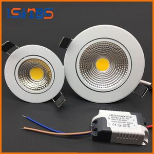 Светодиодный светильник накаливания COB Потолочный прожектор 3w 5w 7w 12w 85-265V встраиваемый в потолок
