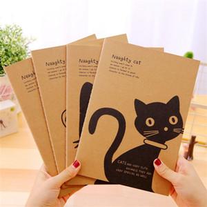 papel Nova Adorável Kraft Notepad do viajante Notebook papelaria Diário Jornal Handmade Vintage couro de viagem do presente caderno de papelaria Estudante