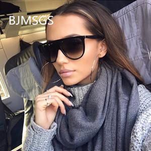 Moda óculos de sol Mulher Marca 2018 óculos de sol retro das mulheres Oversized Sombra Lady Feminino Oculos Dropshipping