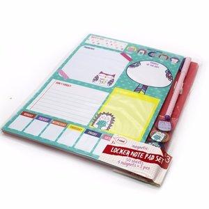 1 unids Pocket Not4 Imán Pequeño Limpio Lindo Portátil Notas Papel Bolígrafo útiles escolares papelería WH17