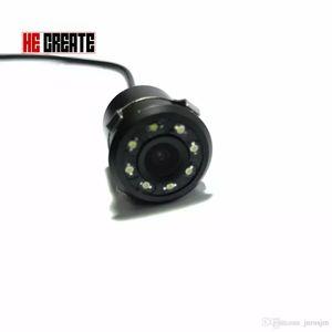 자동차 후면보기 카메라 8 LED 방수 자동 주차 지원을 반전 170도 미니 백업 HD CCD 이미지 센서