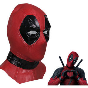 Deadpool 2 Marvel Deadpool Masks Halloween Cosplay Costume Props Superhero Movie Latex Mask Collectible Toys Full Face Mask