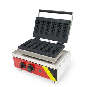 BEIJAMEI 220v 110v machine à gâteau à l'écaillage machine à gâteau de pin commercial arbre électrique Noël machine fabricant Lolly gaufres