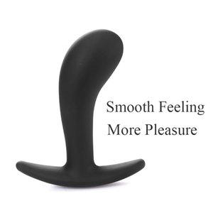 Adult Sex Plug Anal Plug Butt Massager Diary Brinquedos Homens Sexo Dildo Gay Dildo Fetish Silicone Prostato para Produtos Masturbator Mulher Y181007 CRHL