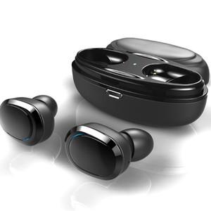 T12 TWS 블루투스 이어폰 미니 트윈스 블루투스 스포츠 헤드폰 이어폰 이어폰 헤드셋 더블 무선 이어폰 무선 충전기