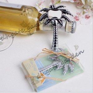"""Freies verschiffen """"Palm Breeze"""" Chrome Palm Tree Bier Flaschenöffner hochzeit brautduschenbevorzugungsgeschenk"""