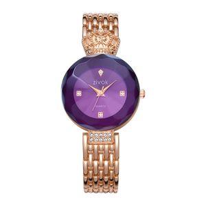 Элегантные часы Crown для женщин из розового золота, золота, серебра, 3 цветов, модные кварцевые наручные часы, часы для девушек, влюбленных, ремешок для часов