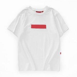Мужская мода Марка Дизайн тенниски Letters Печать Белый Черный Камуфляж коротким рукавом футболки High Street Wear