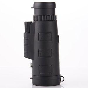 40 * 60 Monoculaire sans fil infrarouge télescope mobile Digital Night Vision HD haute grossissement Chasse en plein air 12 fois FMC Green Film 5 PCS